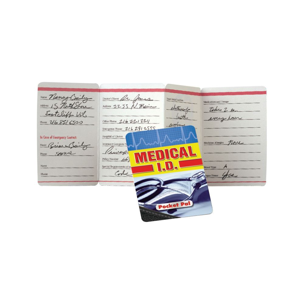 Medical I.D. Pocket Pal - Personalization Available