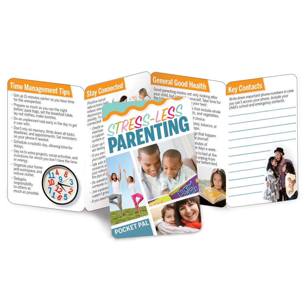 Stress-Less Parenting Pocket Pal - Personalization Available
