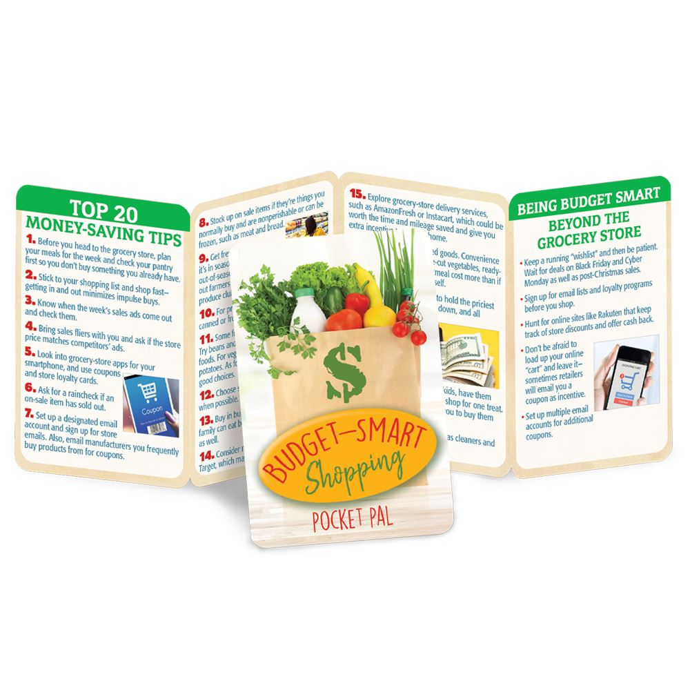 Budget-Smart Shopping Pocket Pal - Personalization Available