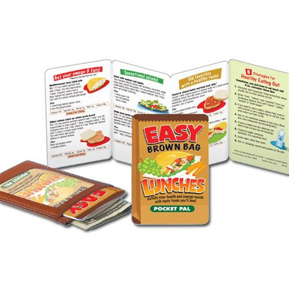 Easy Brown Bag Lunches Pocket Pal - Personalization Available