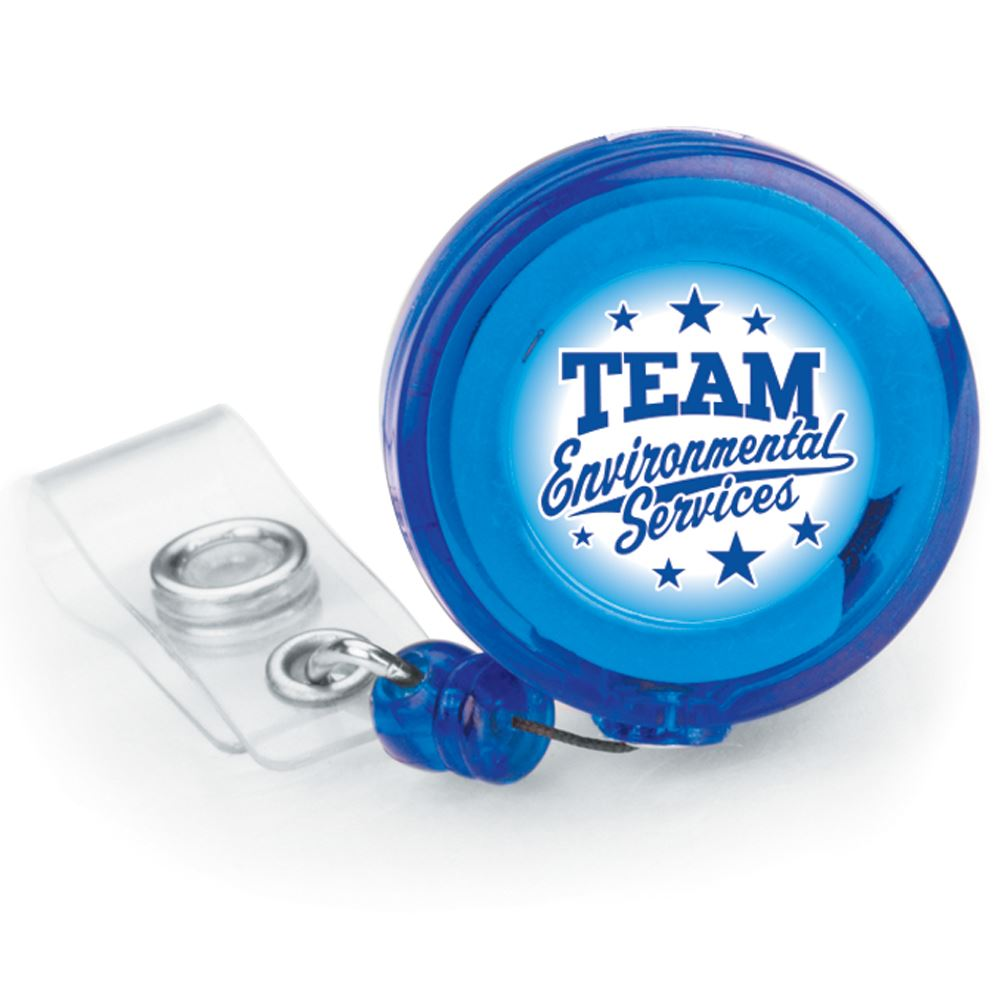 Team Environmental Services Retractable Badge Holder