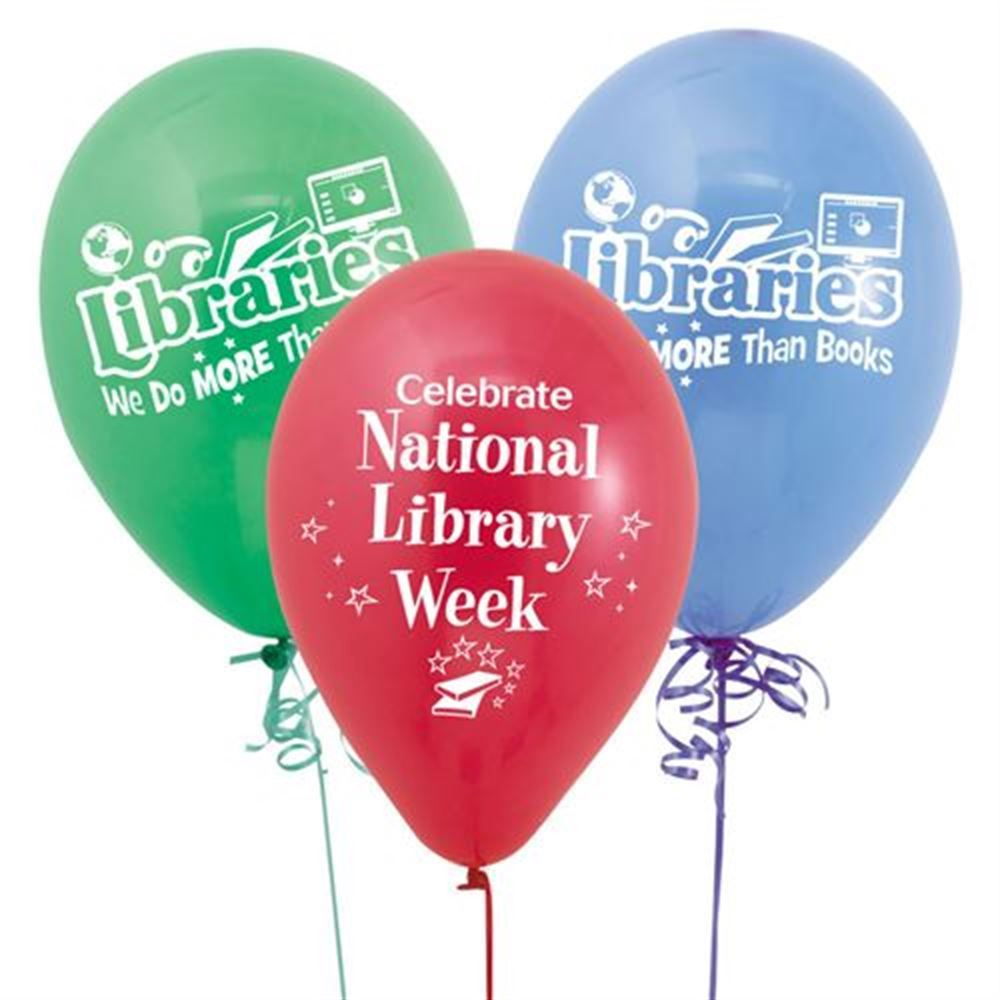 Libraries: We Do More Than Books Balloons
