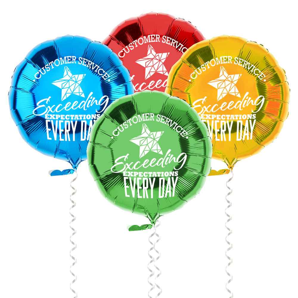 Customer Service: Exceeding Expectations Every Day Foil Balloons