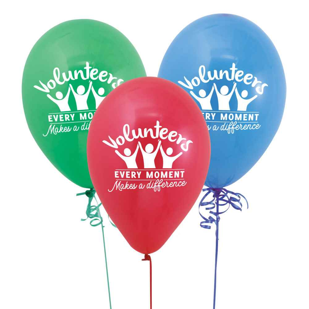 Volunteers: Every Moment Makes A Difference Balloons