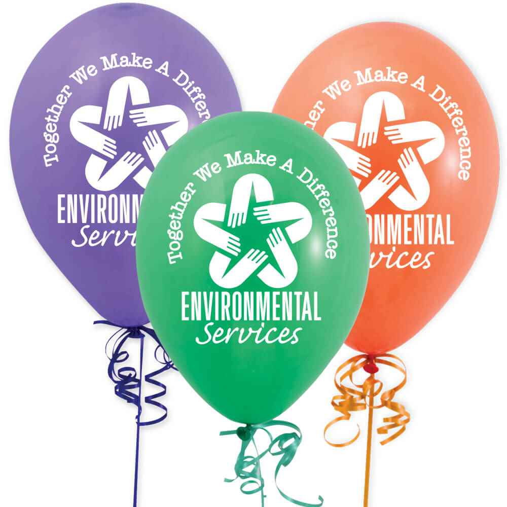 Environmental Services: Together We Make A Difference Balloons