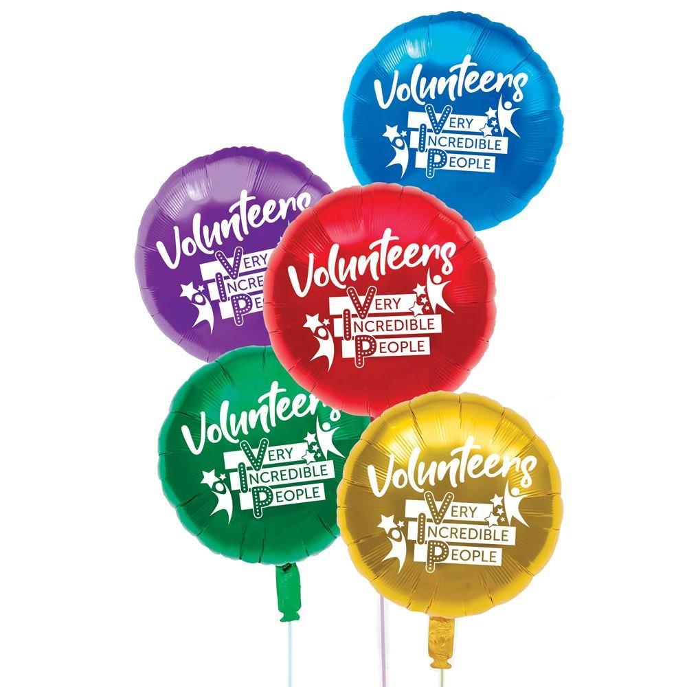 Volunteers: Very Incredible People Foil Balloons