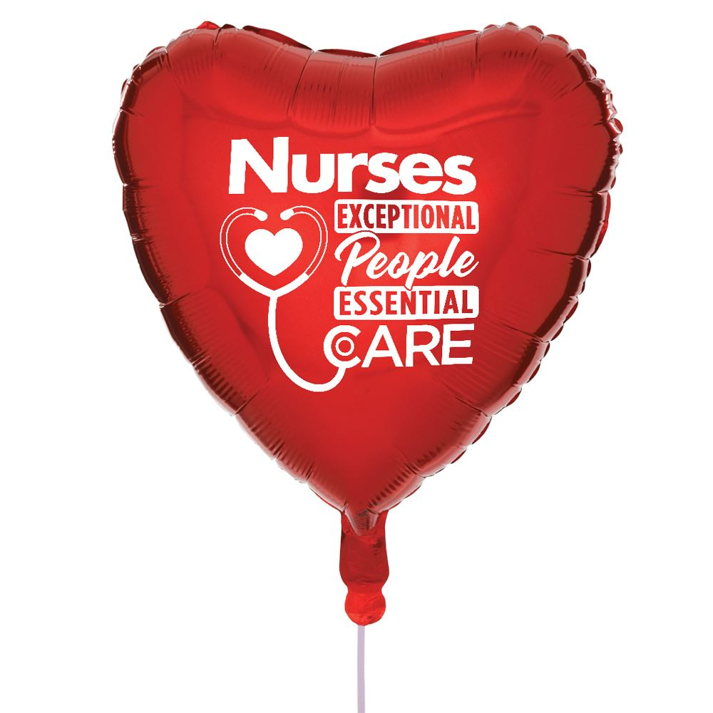 Nurses: Exceptional People, Essential Care Mylar Balloons - Pack of 5