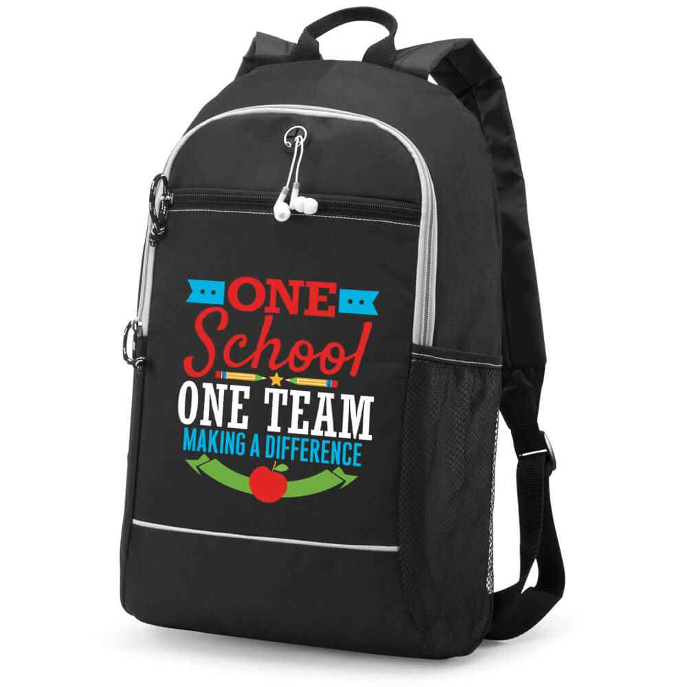 One School, One Team: Making A Difference Bayside Backpack