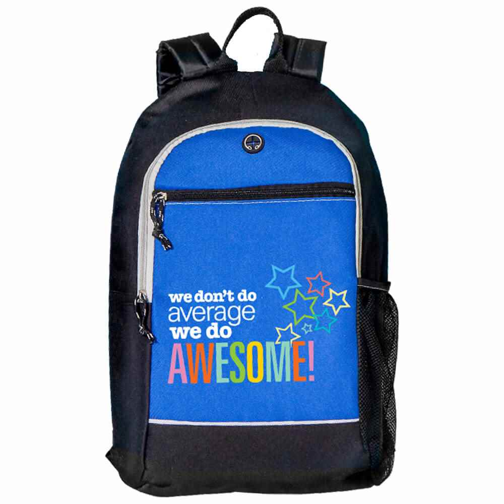 We Don't Do Average, We Do Awesome! Bayside Backpack