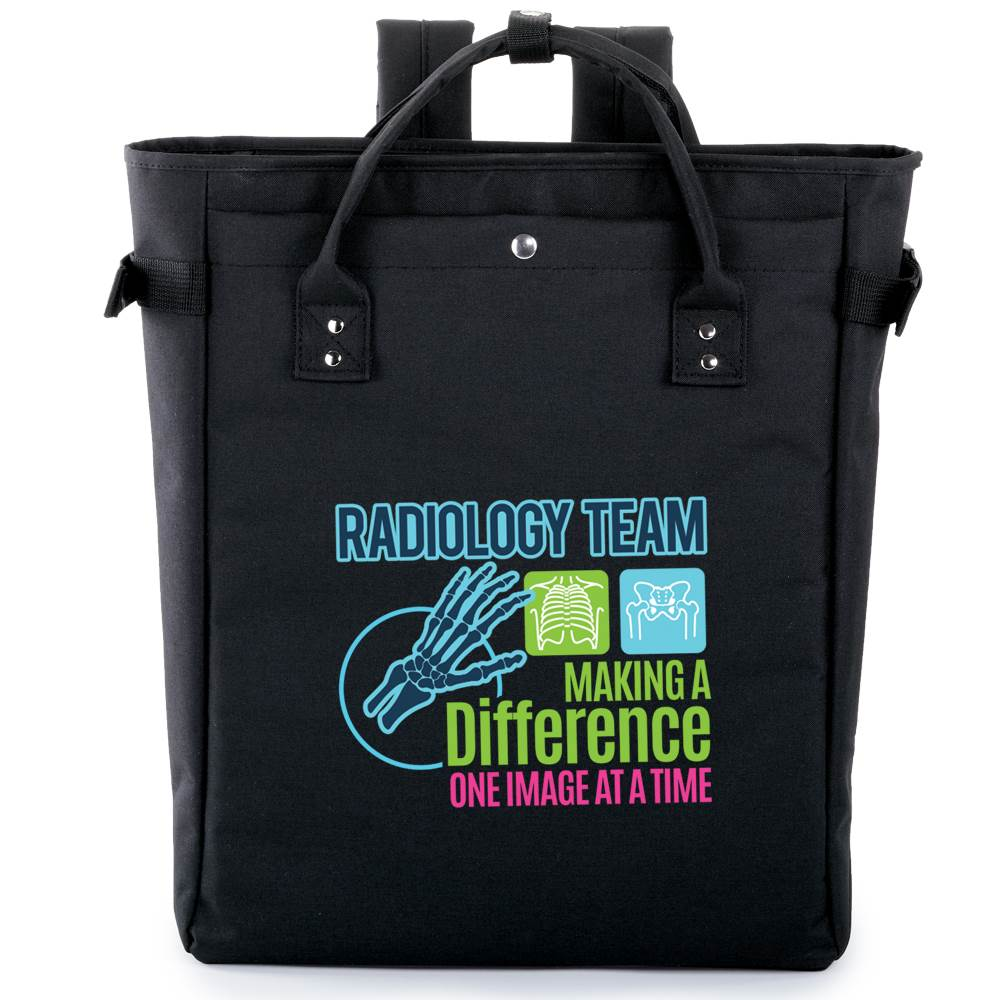 Radiology Team: Making A Difference One Image At A Time Freeport 2-In-1 Tote/Backpack