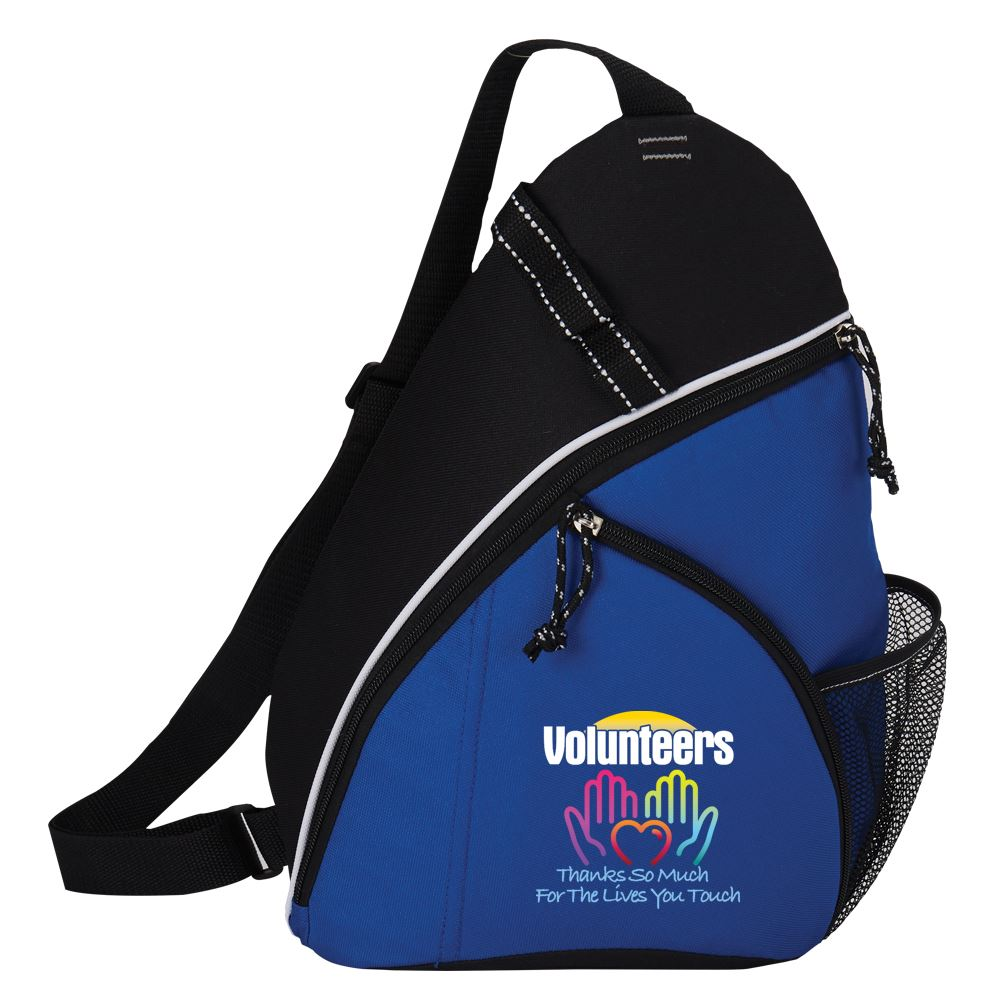 Volunteers: Thanks So Much For The Lives You Touch Westfield Sling Backpack