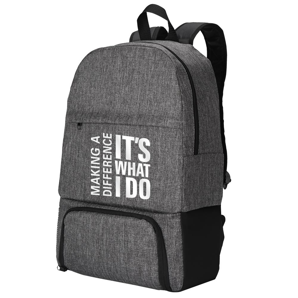 One Person Can Make A Difference Summit 2-In-1 Backpack