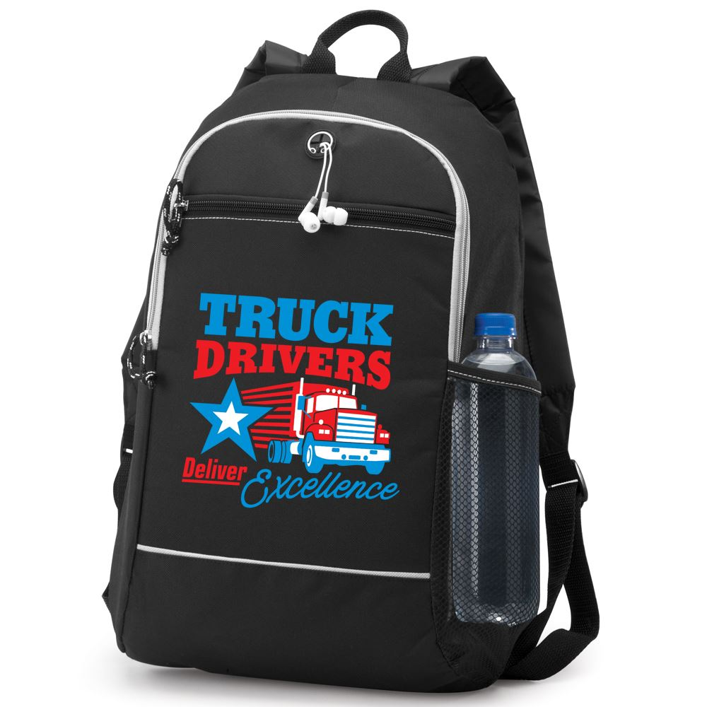 Truck Drivers Deliver Excellence Bayside Backpack