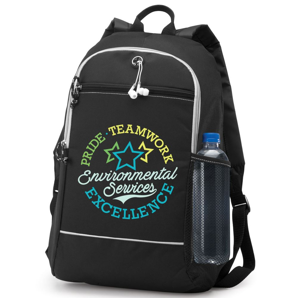 Environmental Services: Pride, Teamwork, Excellence Bayside Backpack