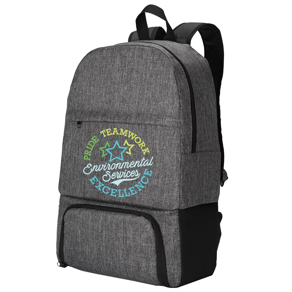 Environmental Services: Pride, Teamwork, Excellence Summit 2-in-1 Backpack/Cooler