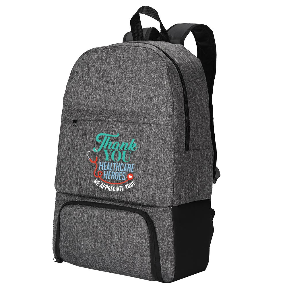 Thank You Healthcare Heroes Summit 2-In-1 Backpack/Cooler