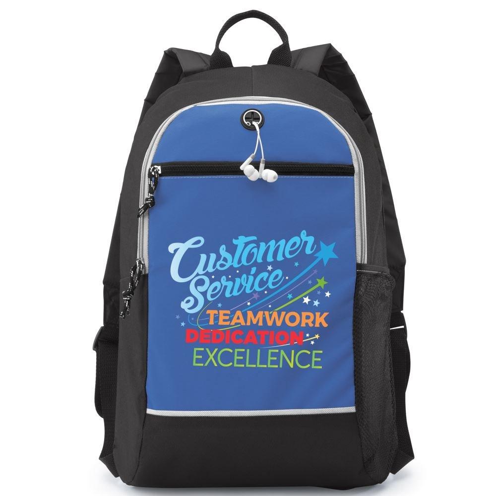 Customer Service: Teamwork, Dedication, Excellence Bayside Backpack