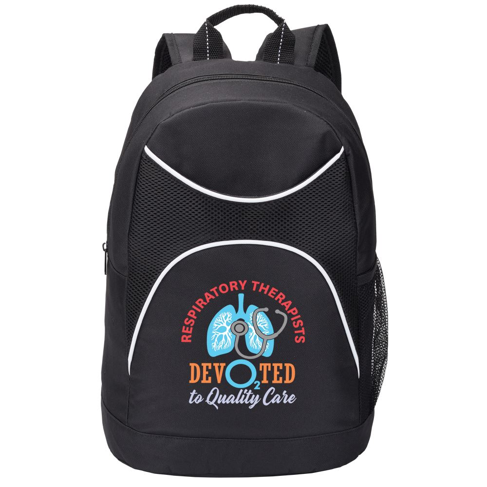 Respiratory Therapists: Devo2ted To Quality Care Highland Backpack