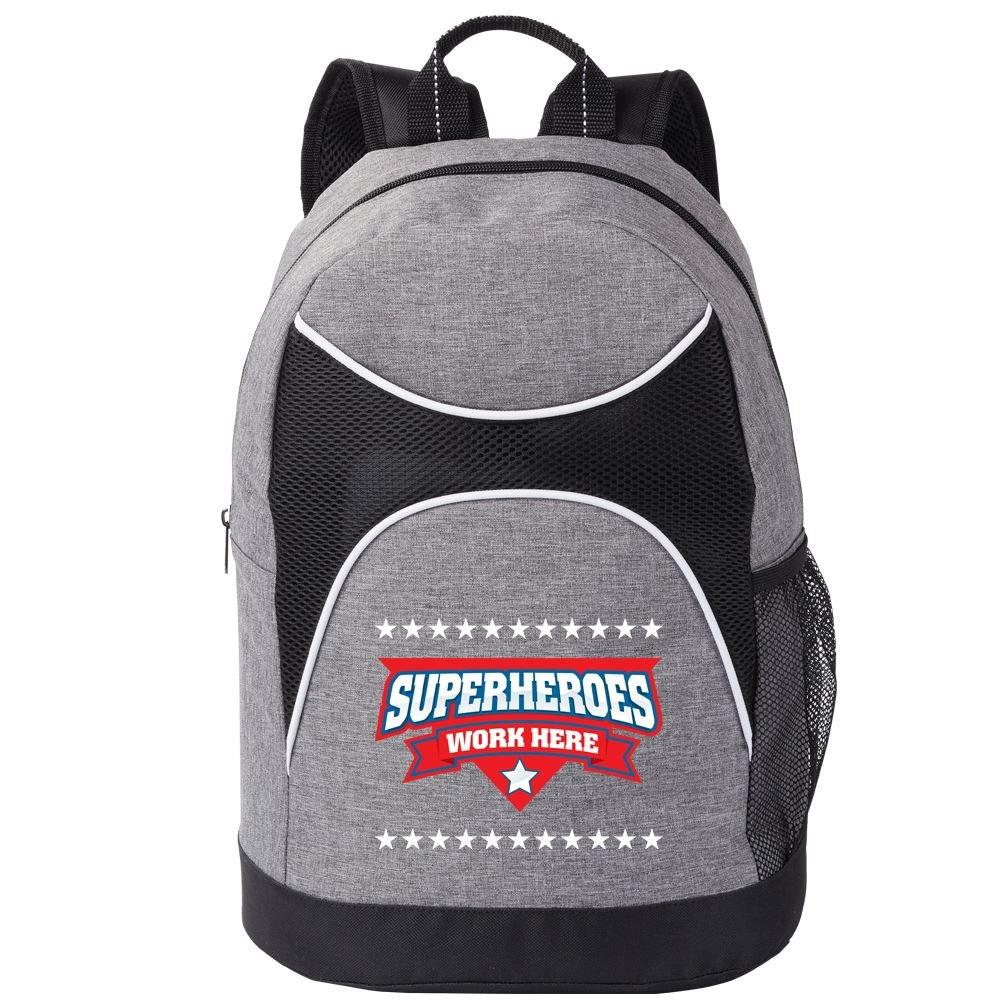 Superheroes Work Here Highland Backpack