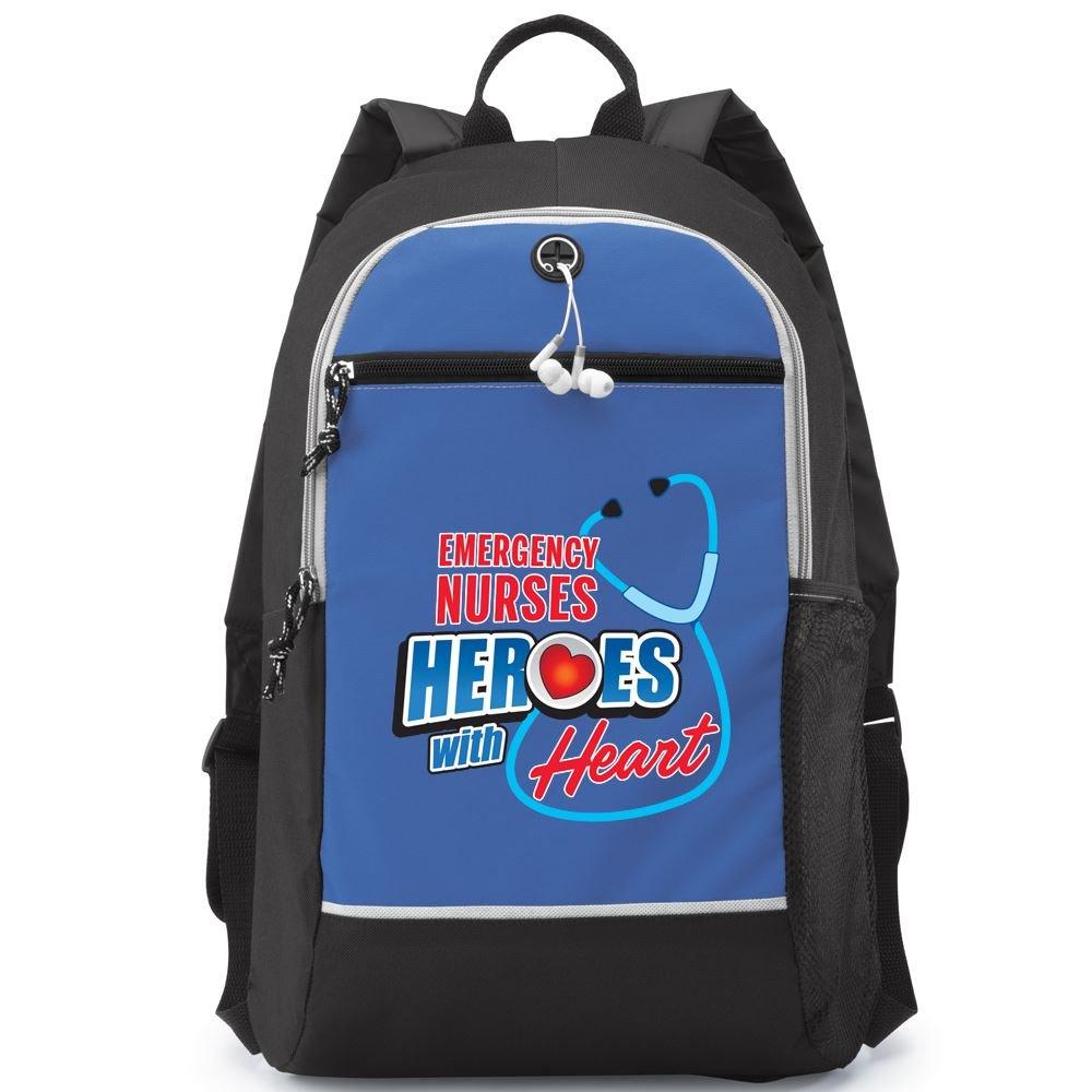 Emergency Nurses: Heroes With Heart Bayside Backpack