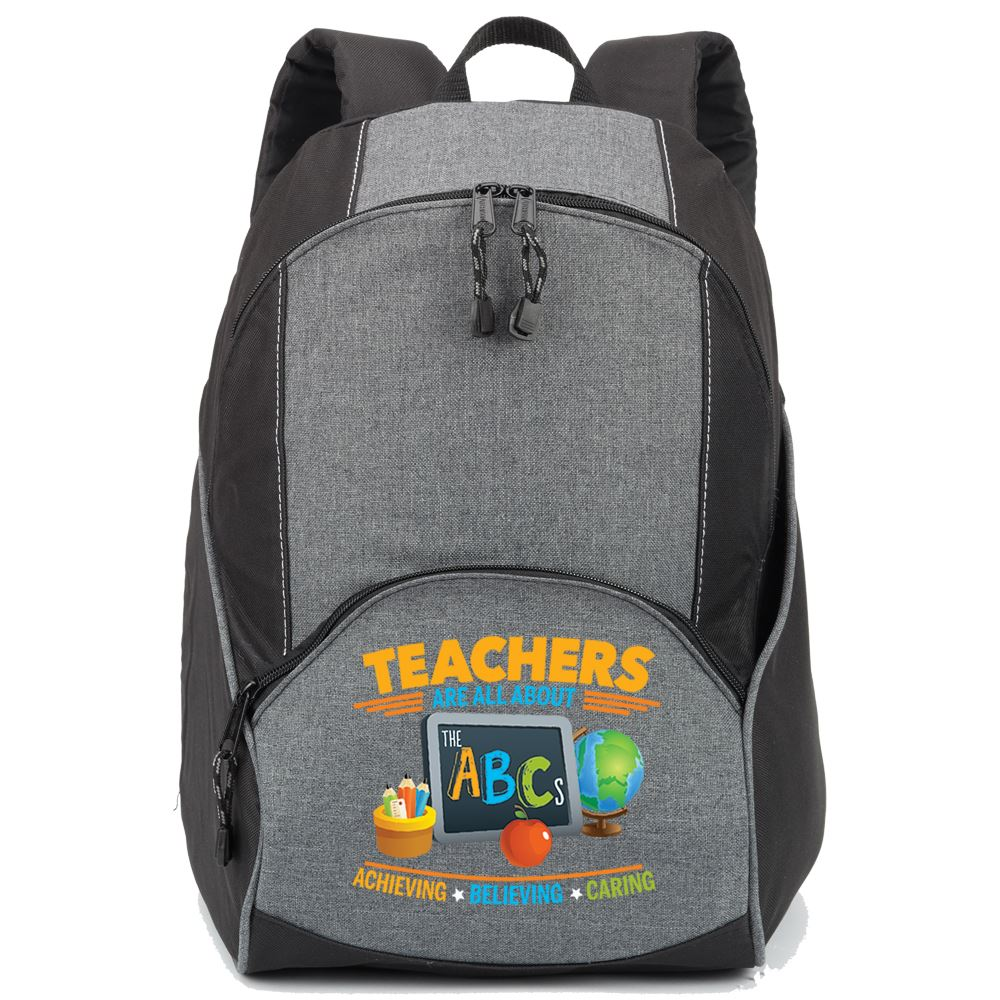 Teachers Are All About The ABCs Aspen Backpack
