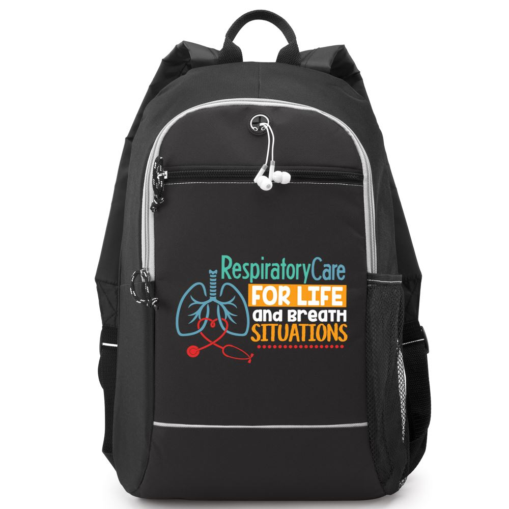 Respiratory Care: For Life And Breath Situations Bayside Backpack