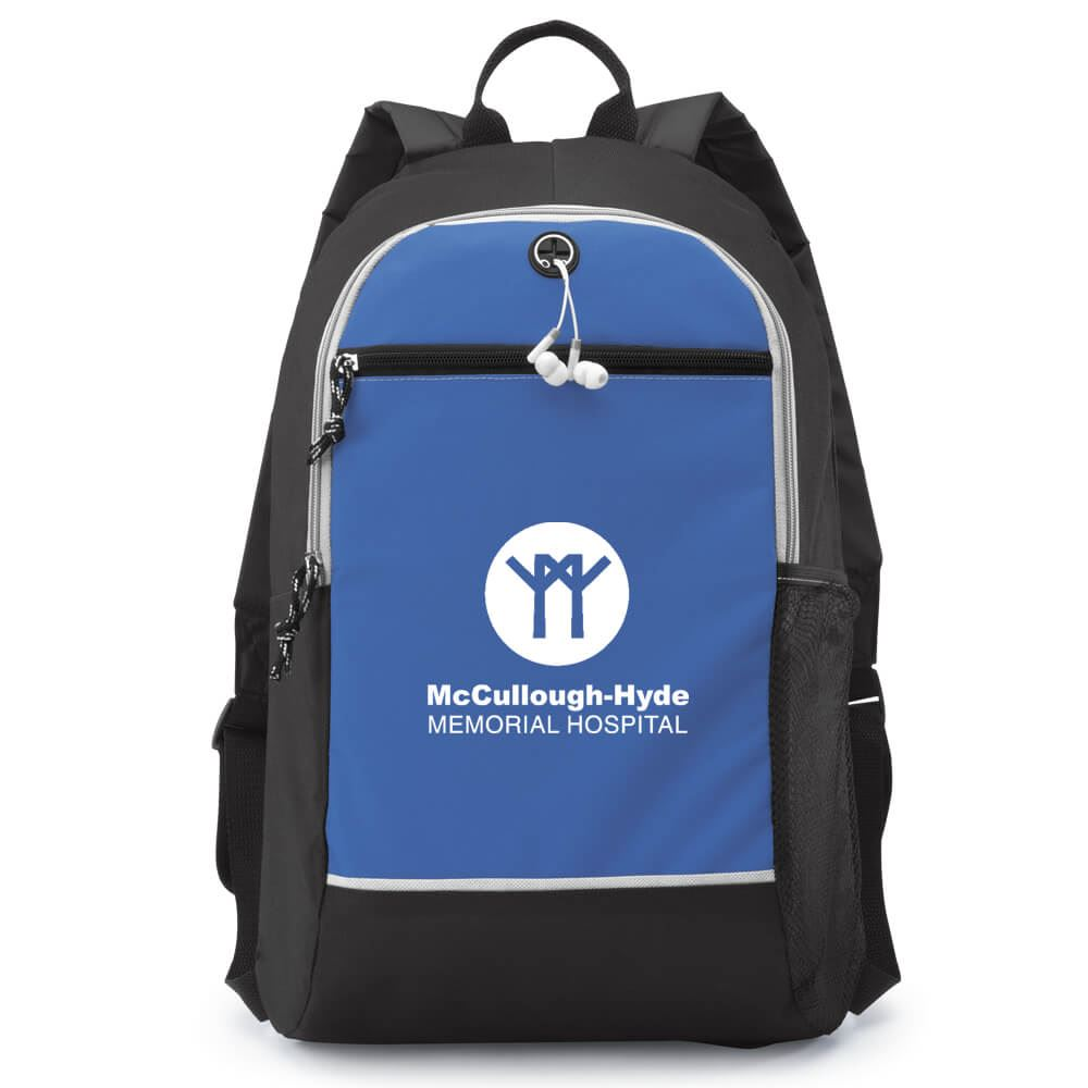 Blue Bayside Backpack - Personalization Available
