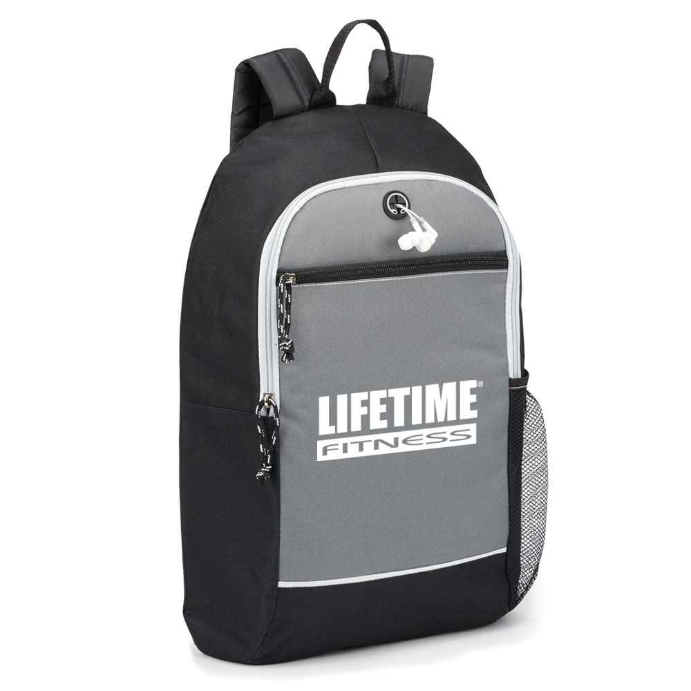 Bayside Backpack (Grey) - Personalization Available