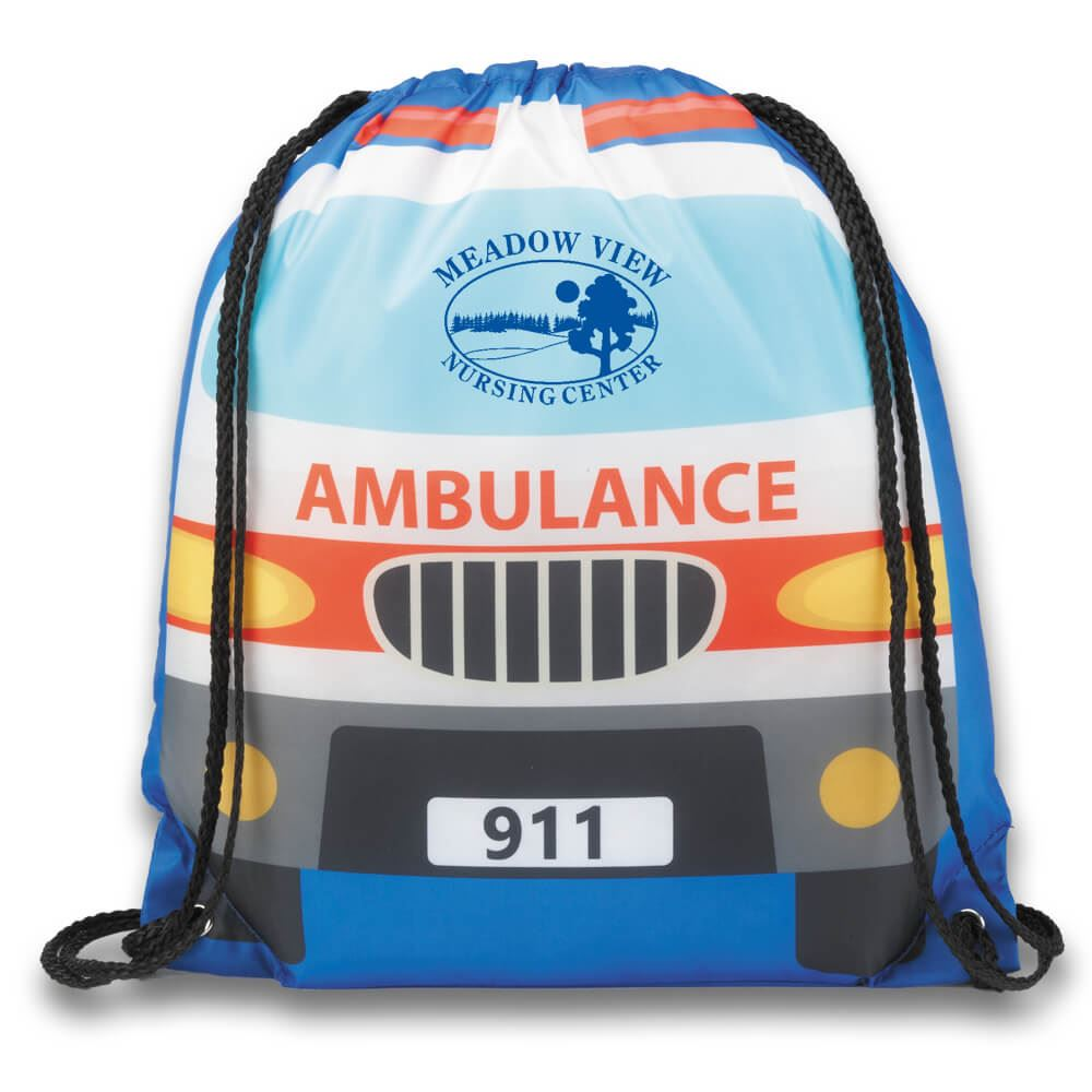 Ambulance Backpack - Personalization Available