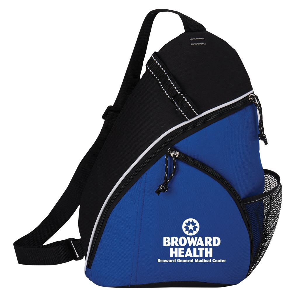 Blue Westfield Sling Backpack - Personalization Available
