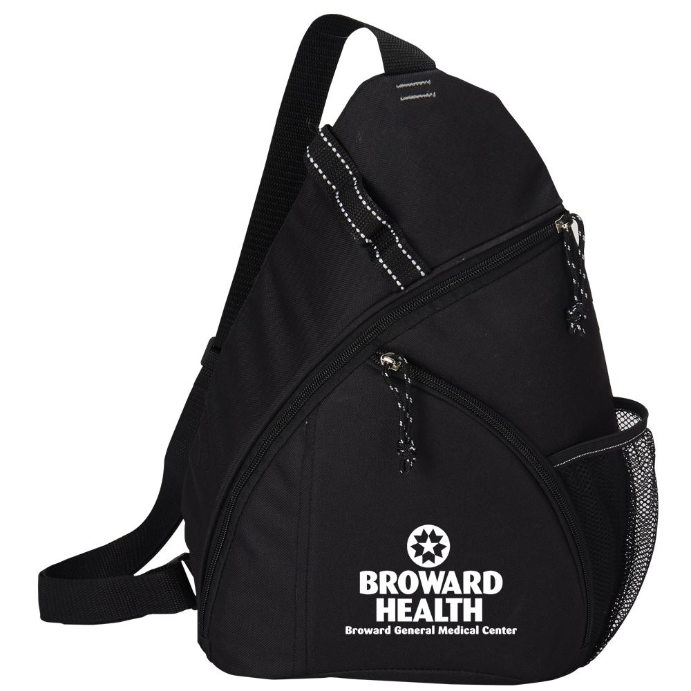 Black Westfield Sling Backpack - Personalization Available