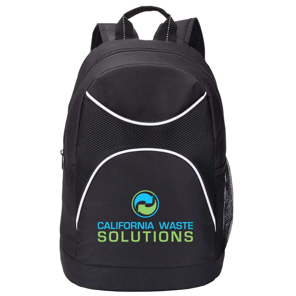 Black Highland Backpack - Full Color Personalization Available