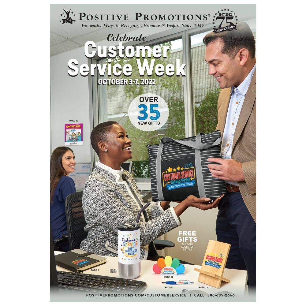 Customer Service Week Catalog