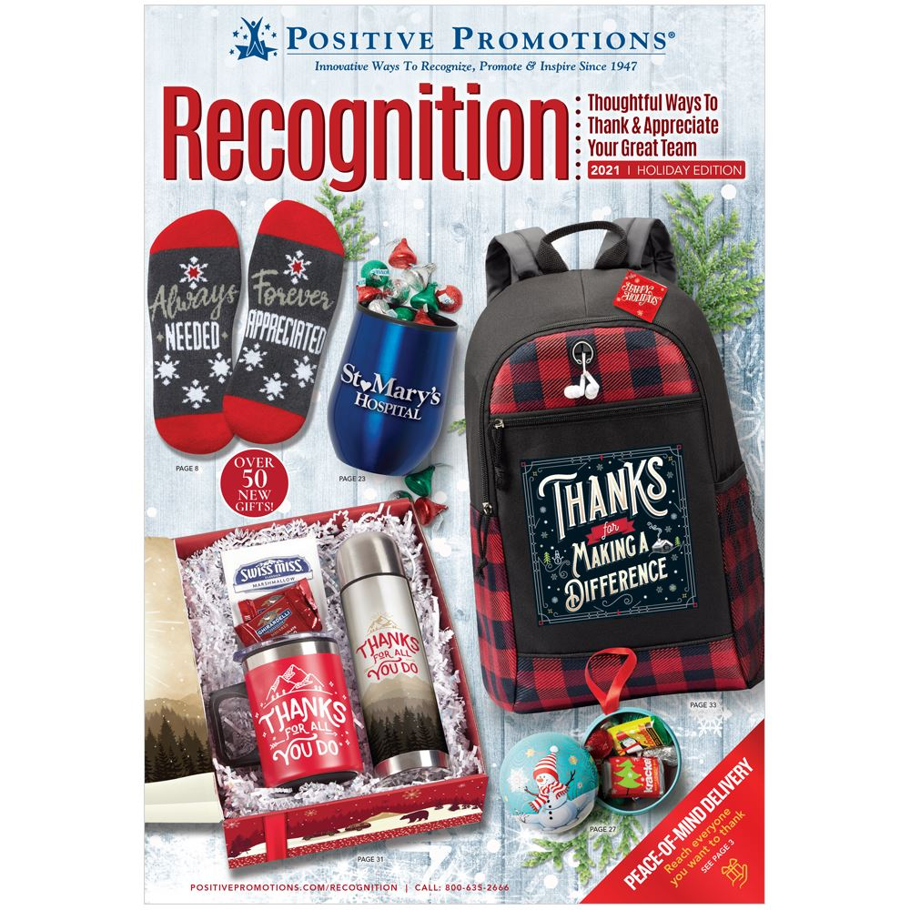 Employee Recognition Catalog (2021 Holiday Edition)