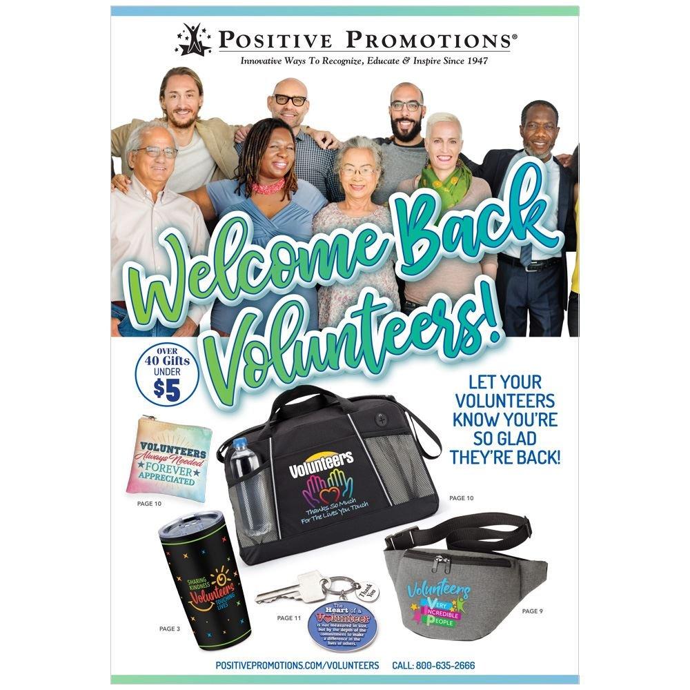 Welcome Back Volunteer Catalog