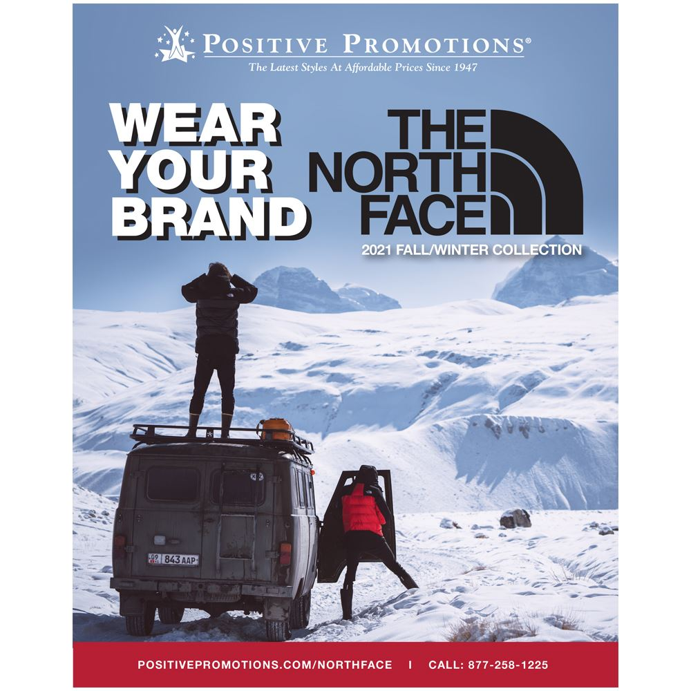 Wear Your Brand: The North Face® 2021 Fall/Winter Catalog