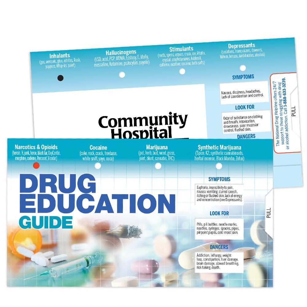 Drug Education Slideguide - Personalization Available
