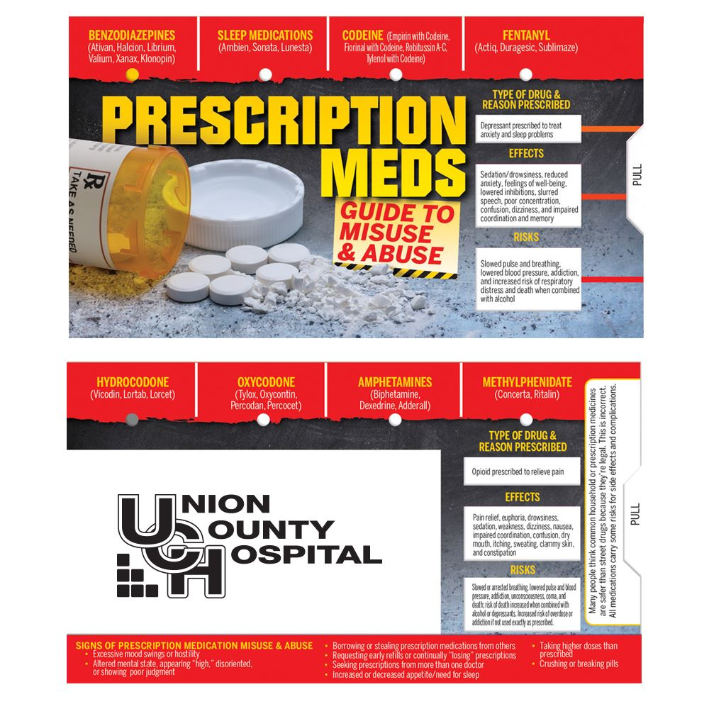Prescription Meds: Guide To Misuse & Abuse Mini Slideguide - Personalization Available