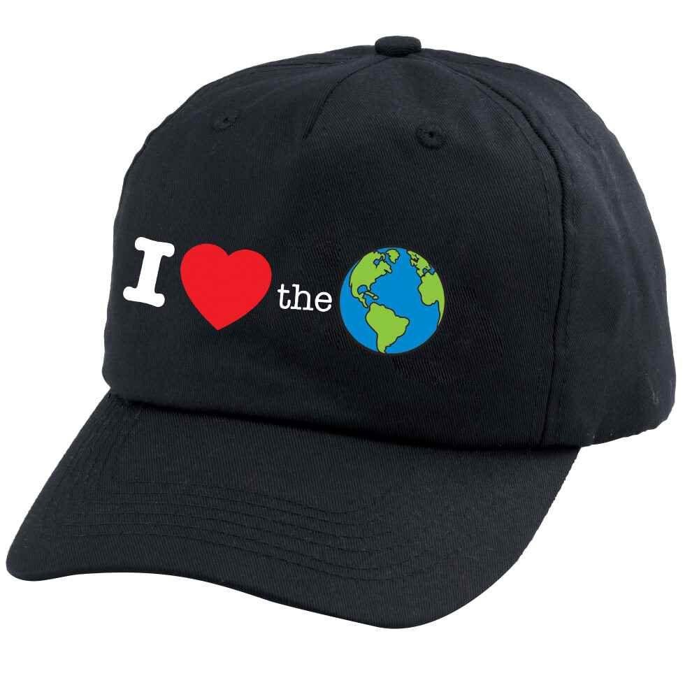 I (Heart) The Earth Baseball Cap