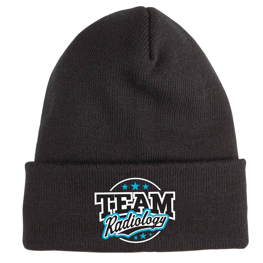 Team Radiology Soft Knit Embroidered Beanie
