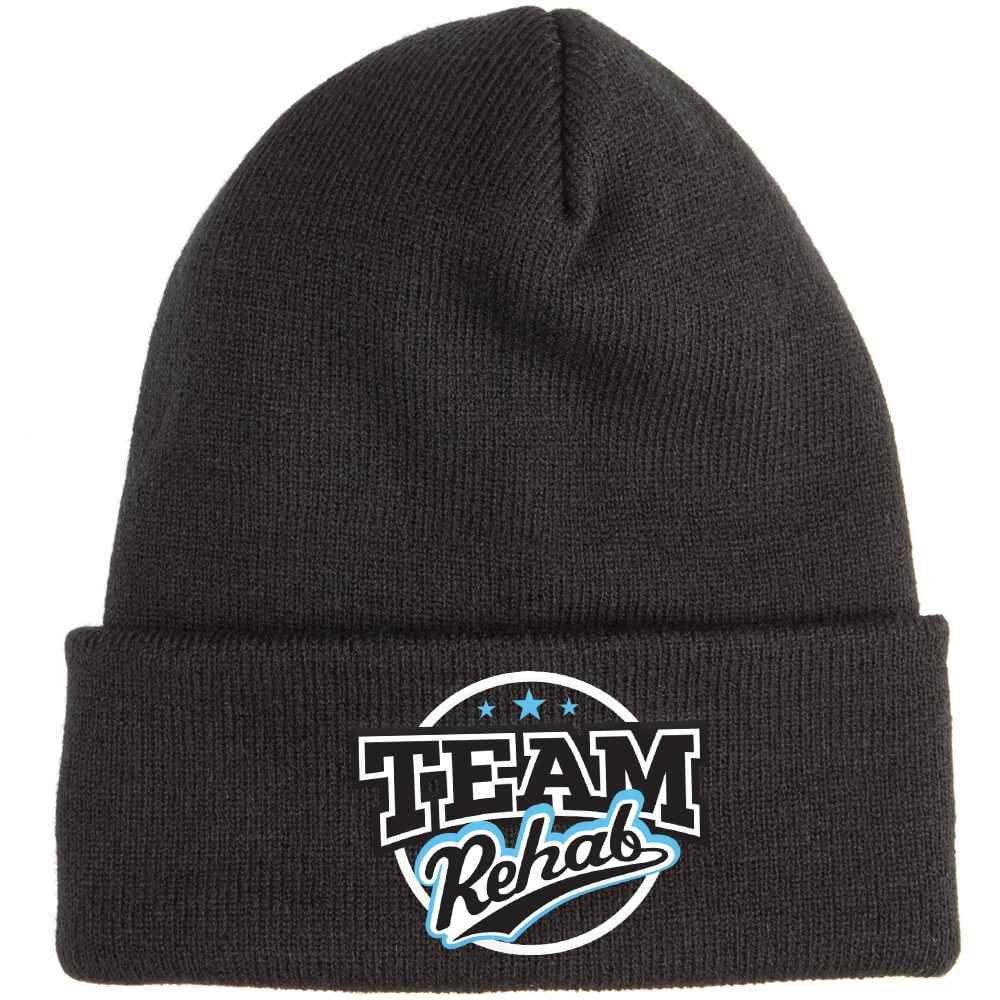 Team Rehab Soft Knit Embroidered Beanie