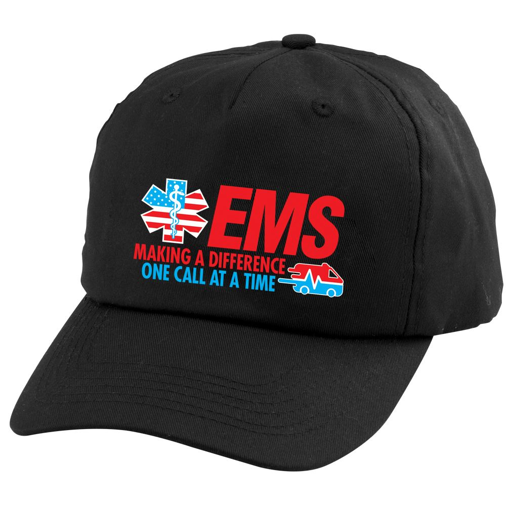 EMS Making A Difference One Call At A Time Baseball Cap