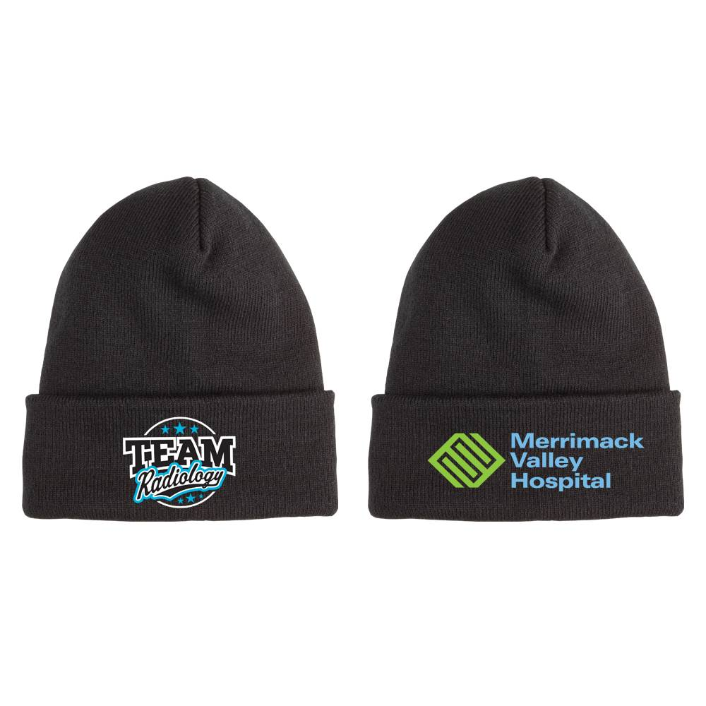 Team Radiology Soft Knit Embroidered Beanie with Personalziation