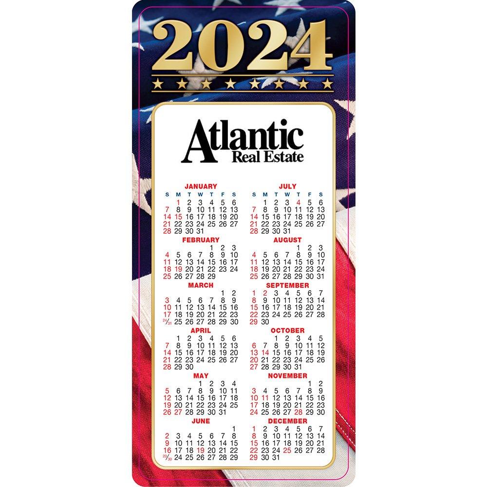 Americana E-Z 2 Stick 2022 Calendar - Personalization Available