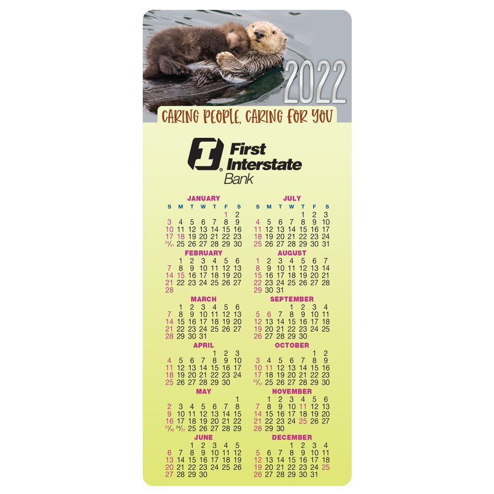 Caring People Caring For You E-Z 2 Stick 2022 Calendar - Personalization Available