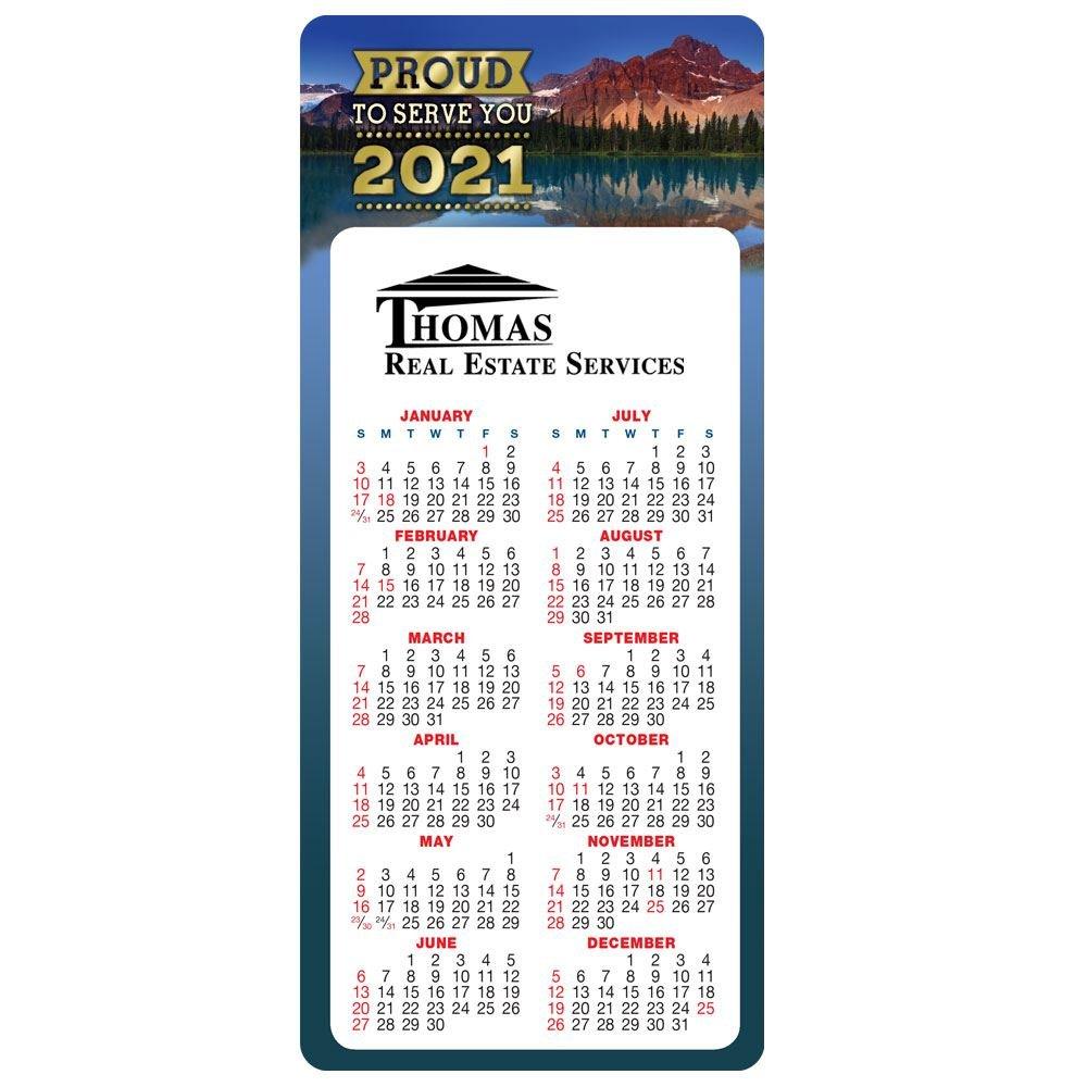 Proud To Serve You E-Z 2 Stick 2021 Calendar - Personalization Available