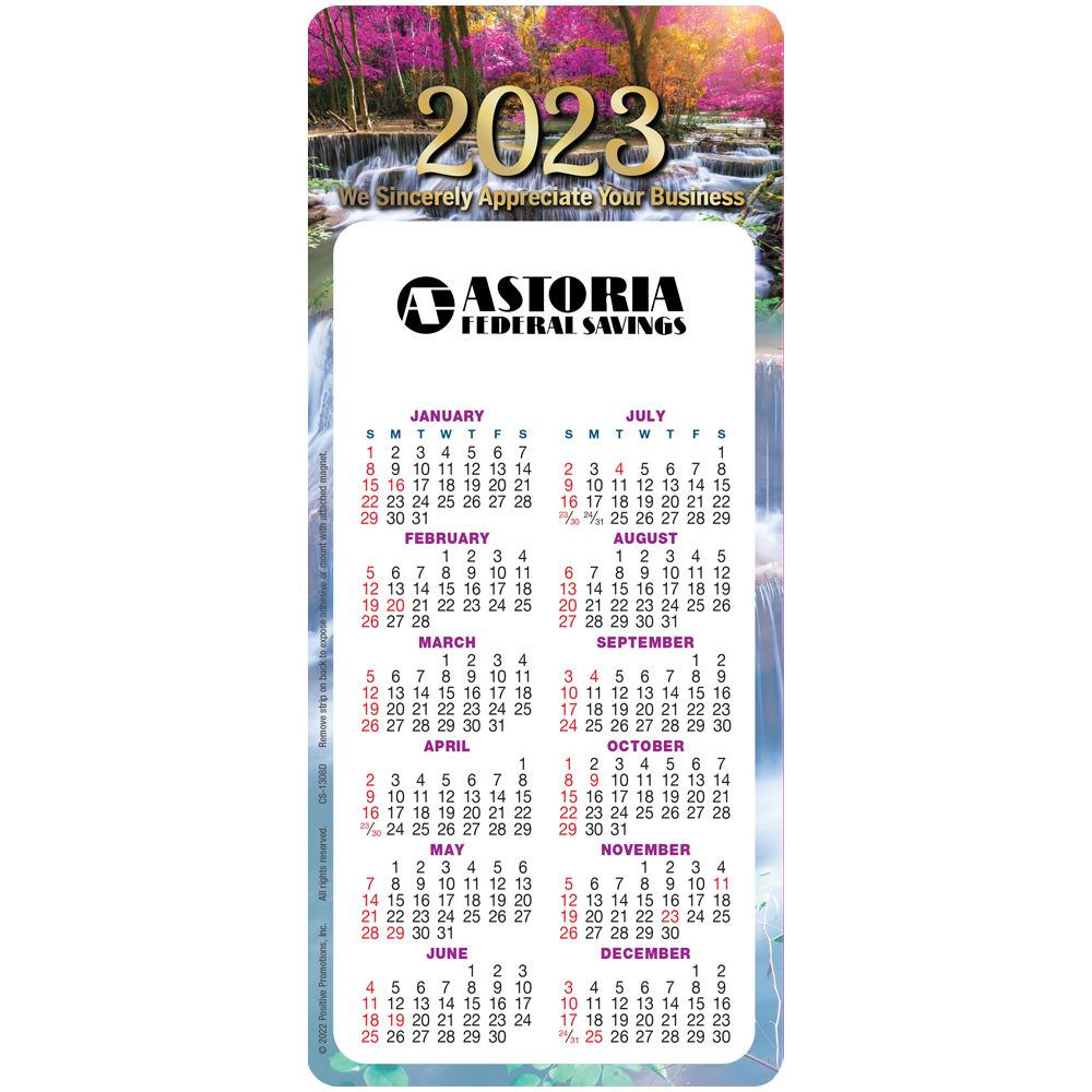 We Sincerely Appreciate Your Business E-Z 2 Stick 2022 Calendar - Personalization Available