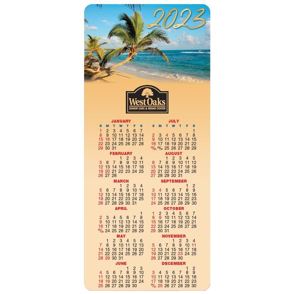 Paradise E-Z 2 Stick 2022 Calendar - Personalization Available
