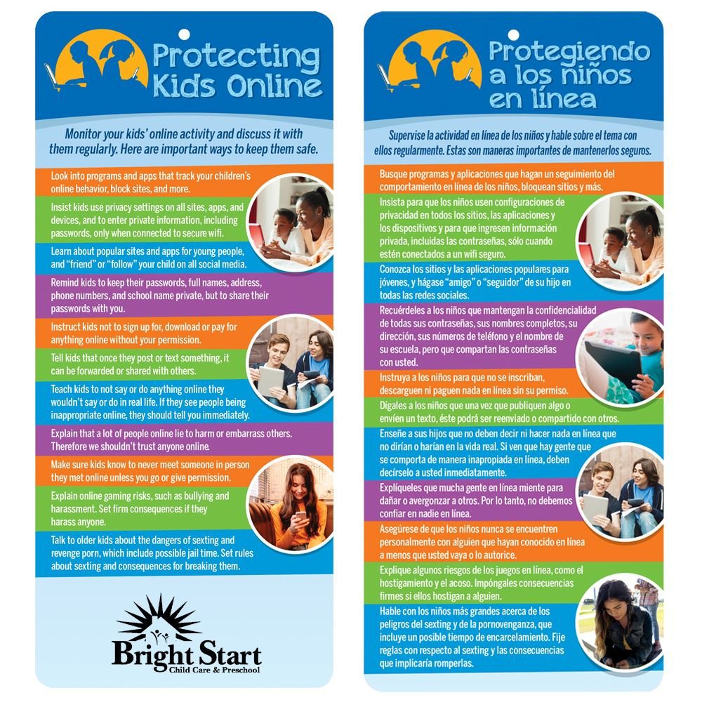 Protecting Your Kids Online Glancer - Personalization Available