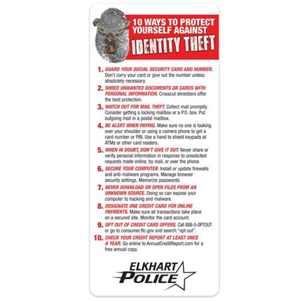 10 Ways To Protect Yourself Against Identity Theft